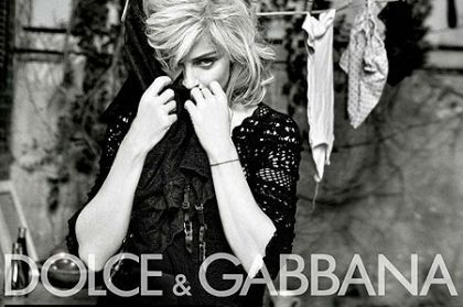 Madonna plays sexy housewife in new Dolce & Gabanna ad campaign