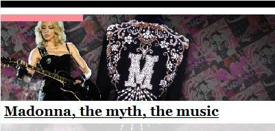 ''Madonna, the myth, the music'' by Dolce & Gabbana