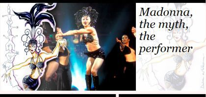 Madonna, the myth, the performer by Dolce & Gabbana