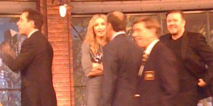 Madonna at the taping of US TV show 'The Marriage Ref', Feb. 24, 2010