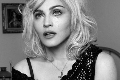 Stefano Gabbana confirms that Madonna really cries on the photograph