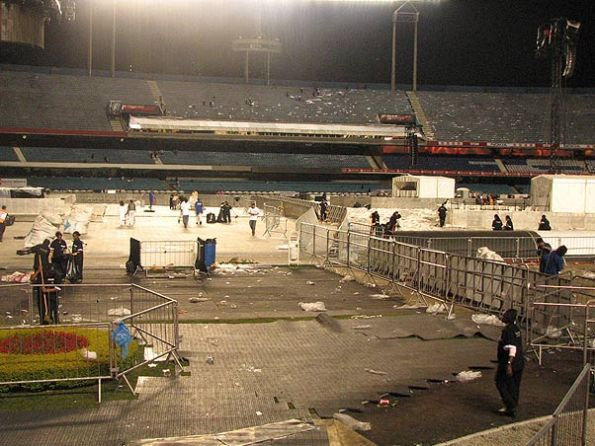 Sticky & Sweet Tour: Morumbi stadium in Sao Paulo after the second show