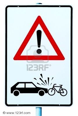 accident voiture cycliste