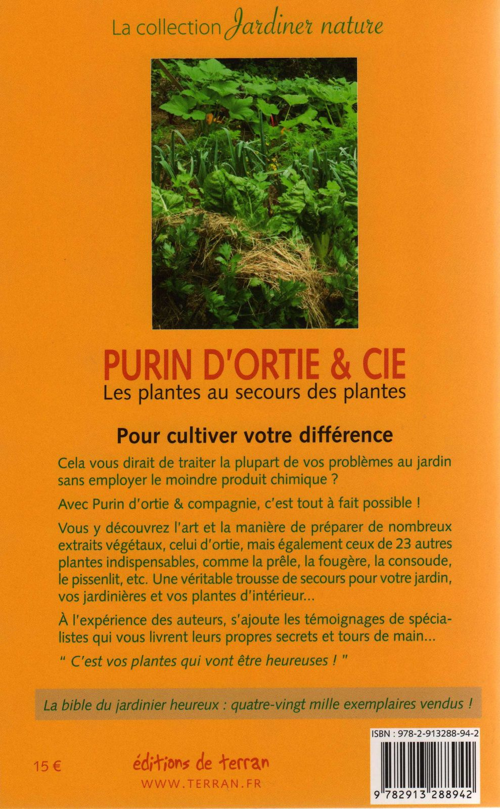 Le saviez vous le blog de naturalistes sans fronti re - Fabrication purin d ortie ...