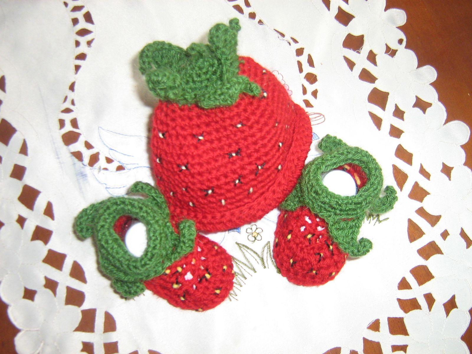 tricoter une fraise
