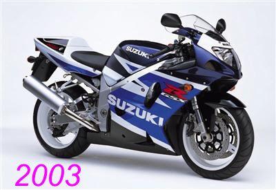 2003 GSX R750