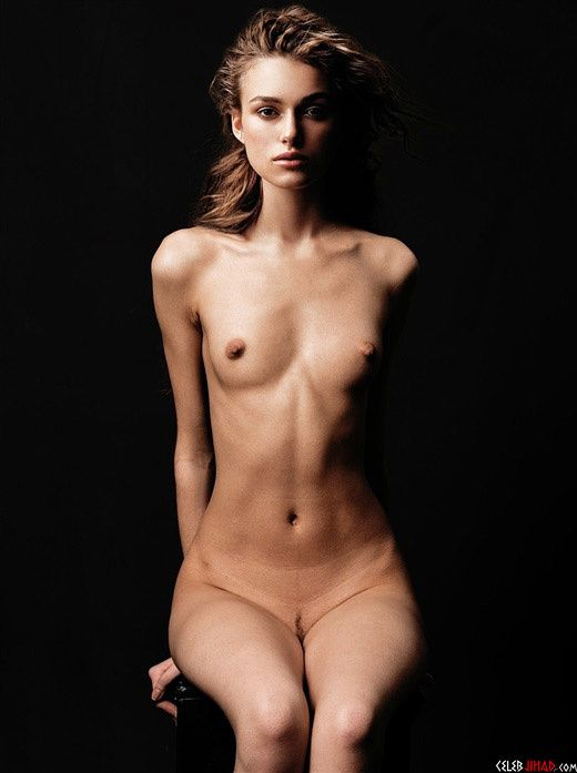 interview topless knightley Keira magazine