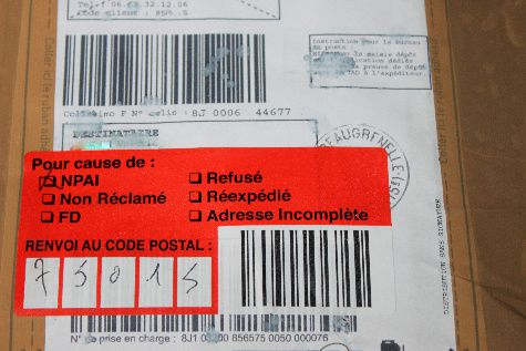 E commerce le blog d 39 atomic le chat for La poste reexpedition definitive