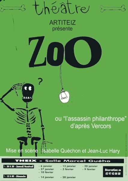 album 2007 zoo ou l assassin philanthrope artiteiz