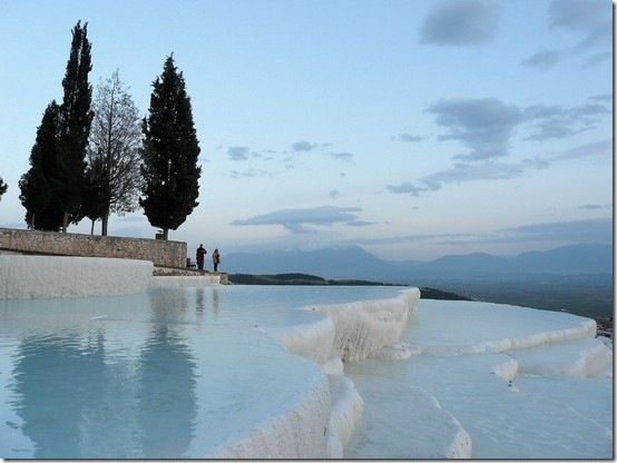Pamukkale source thermale