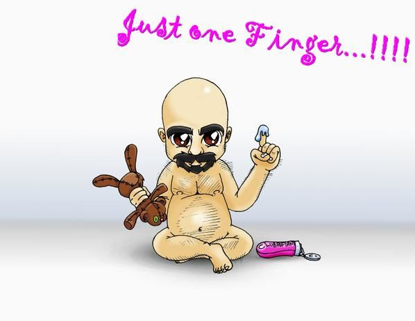 drawing bear gay playing with his finger dessin oursz jouant avec son doigt