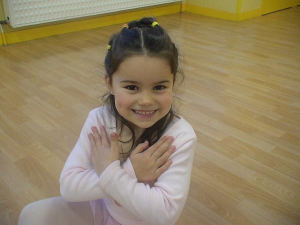 Petites danseuses de 3 à 10 ans.