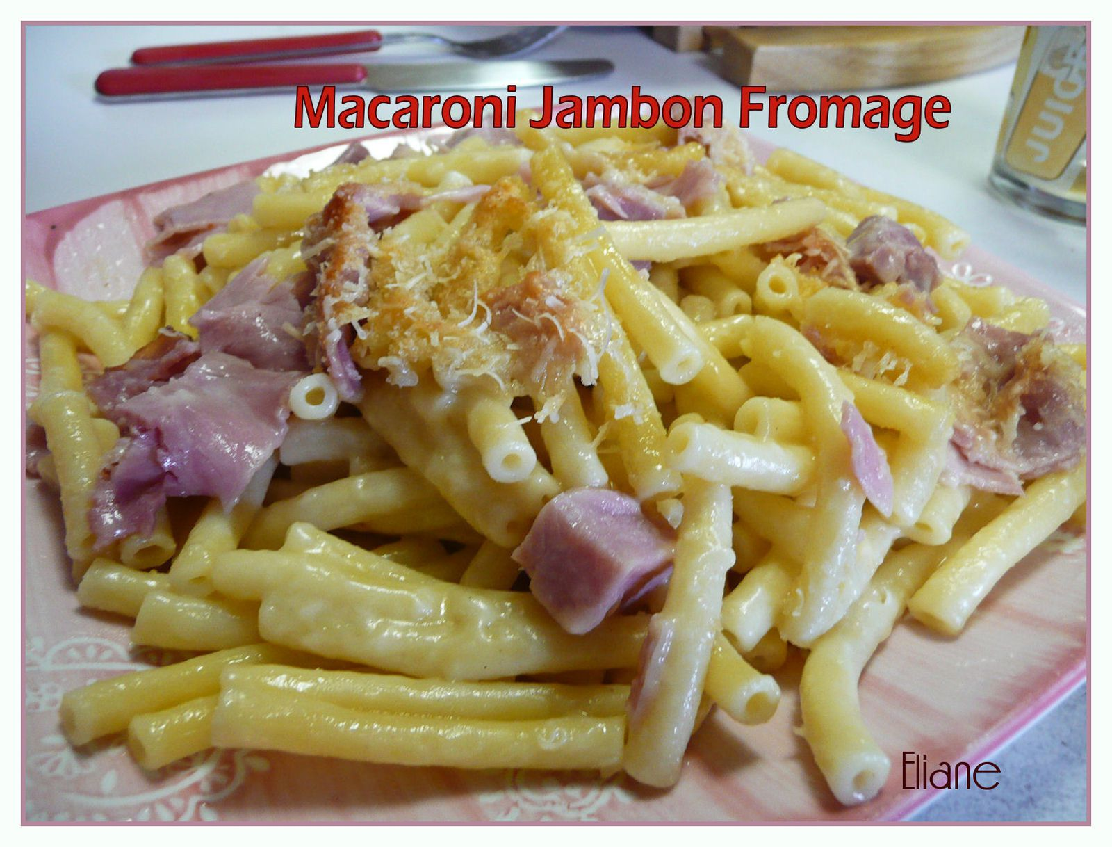 macaroni jambon fromage de grand m 232 re parfums de cagne