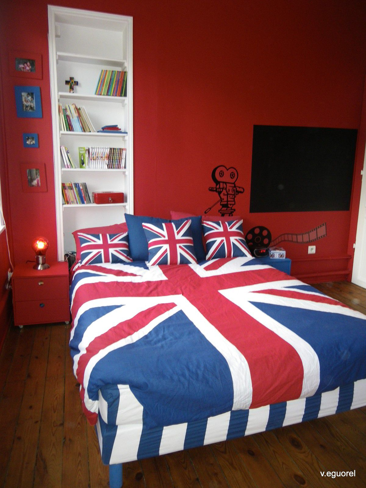 Relooking chambre ado meilleures images d 39 inspiration for Chambre ado style british