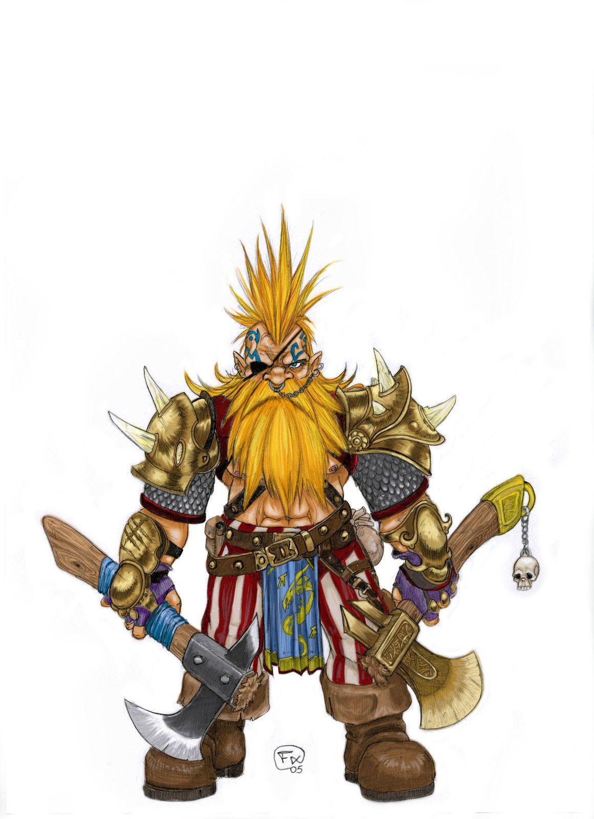 Dwarf Troll Hunter - Warhammer - Effix