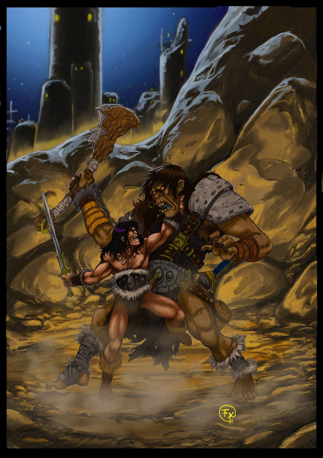 Duel conan ourma by effix
