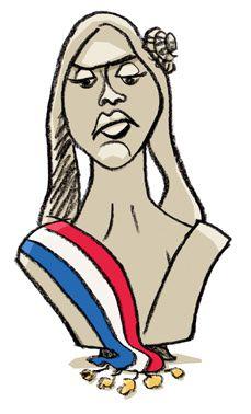 Marianne le blog d 39 etienne gendrin - Dessin marianne ...