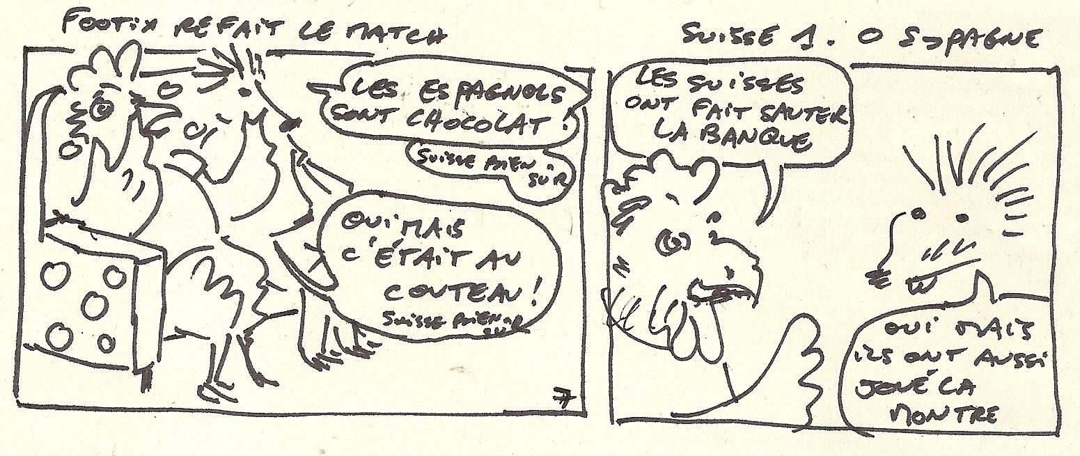 Footix refait le match 7