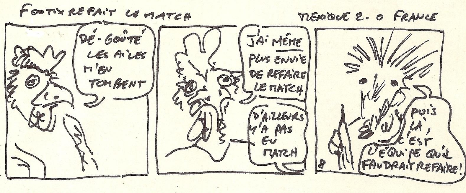 Footix refait le match 8