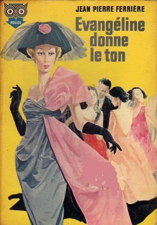 une sélection de cinquante couvertures parmi les romans de Jean-Pierre Ferrière