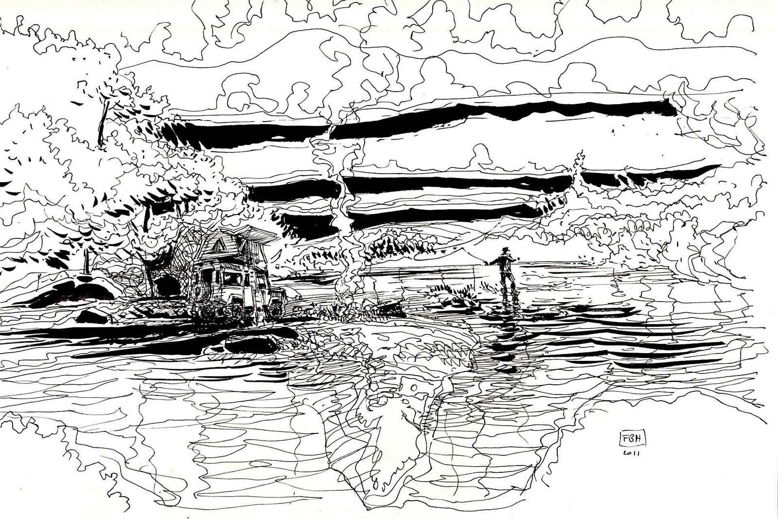 Defender encre de chine sur papier 2011 21X32 (10)
