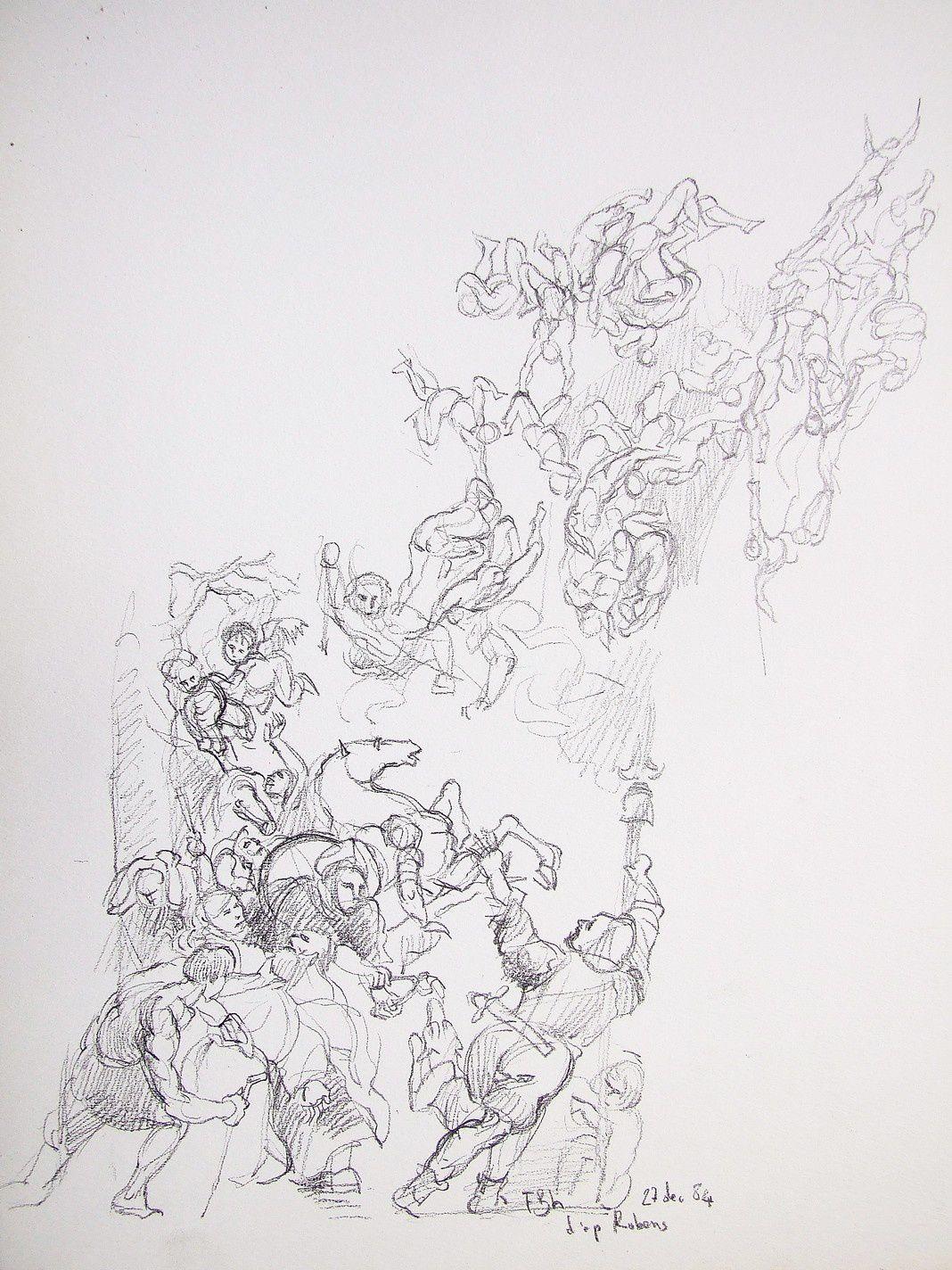 D'après Rubens (2)