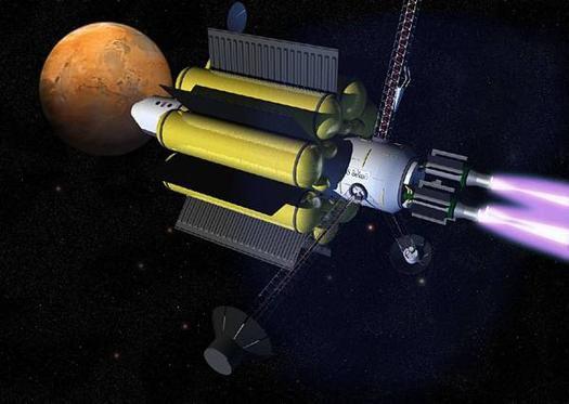 VASIMR spacecraft