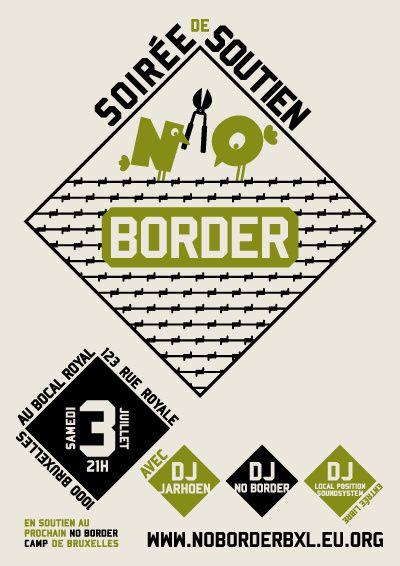 Affiche NoBorder 3juillet
