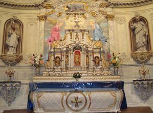 Mâle Eglise Saint-Martin Restauration Statuettes