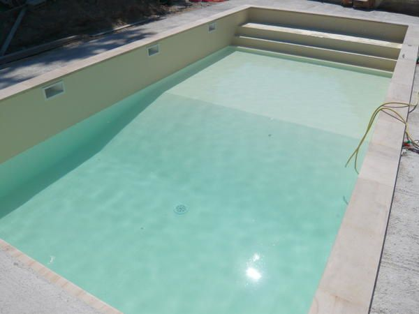 Coloris pvc arm liner piscine alkorplan - Piscine pvc arme gris clair ...