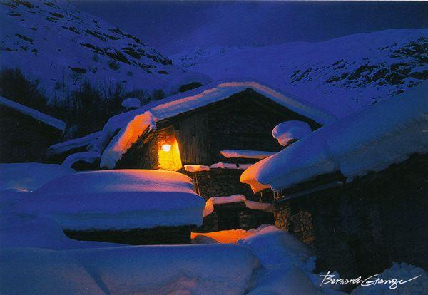 435 - Nuit neigeuse