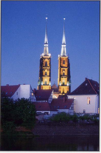 500 - Cathédrale Saint-Jean Baptiste, Wroclaw, Pologne