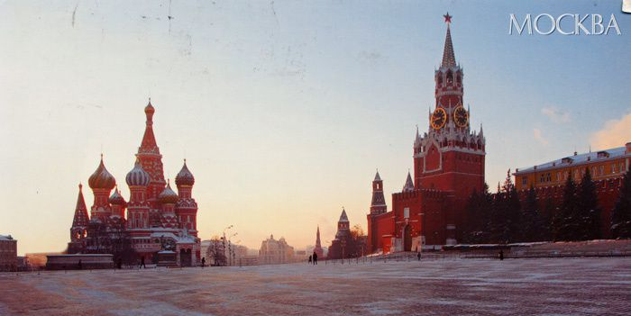 570 - Place Rouge, Moscou, Russie