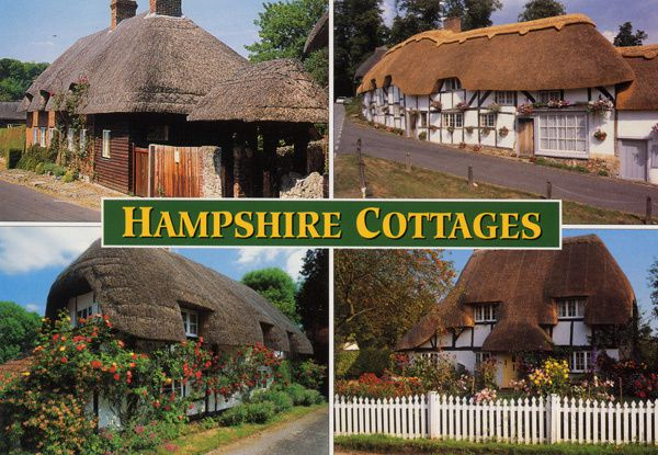 623 - Cottages dans le Hampshire, Royaume Uni