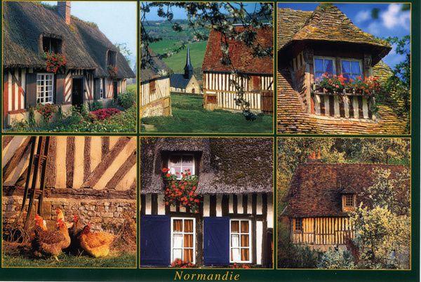 626 - Maisons normandes