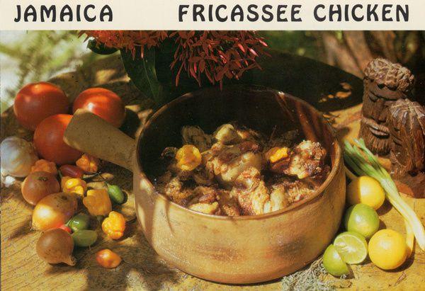 644 - Fricassée de poulet, Jamaïque