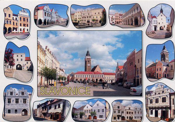 739 - Slavonice, République Tchèque