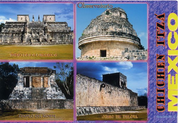 764 - Chichen Itza, Mexique