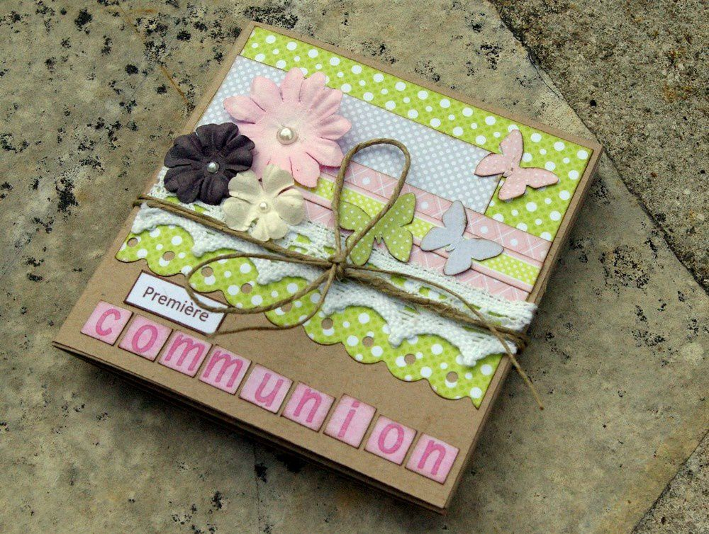 Album Communion Par Aurore Swirlscrap Le Blog Scrap