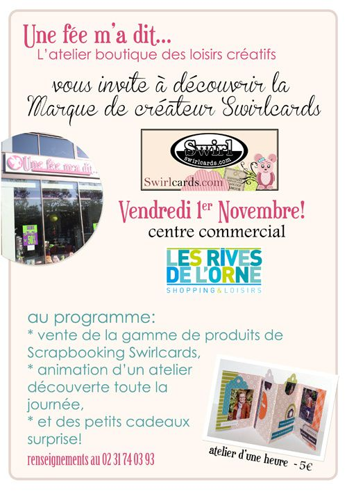 Animation swirlcards aux rives de l 39 orne caen swirlscrap le blog sc - Magasin rives de l orne ...