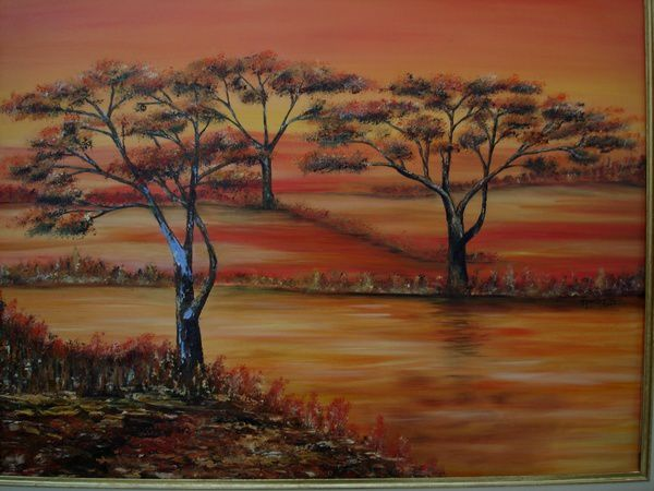 Scenery spring pictures images paysages africains - Dessin paysage africain ...
