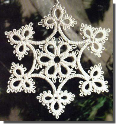 free_tatting_pattern_Star_étoile_frivolité