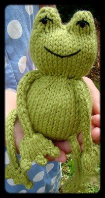TUTO_GRENOUILLE_TRICOT_FROG