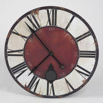 Horloge de bistrot