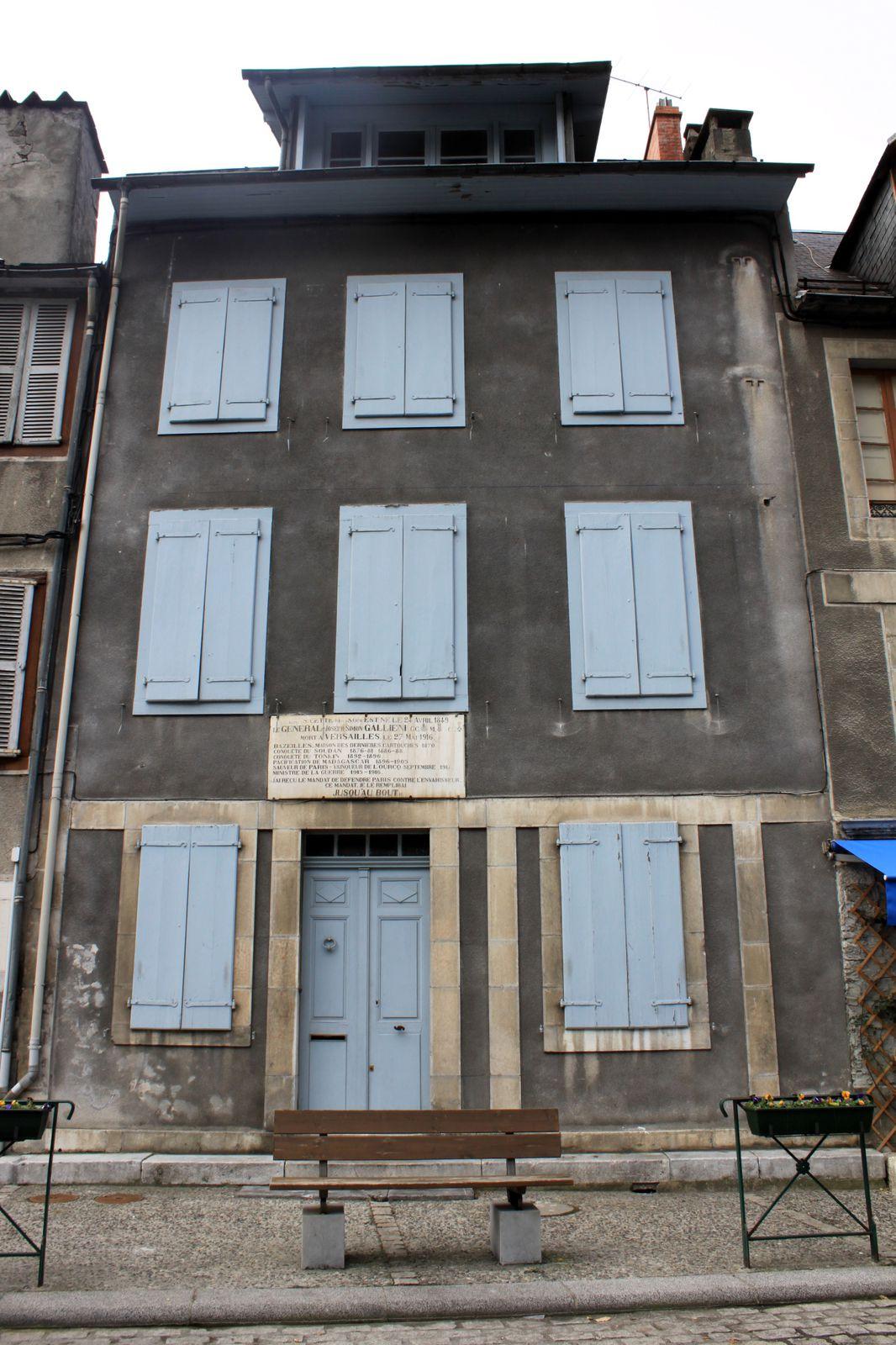 Maison Général Gallieni à St-Béat