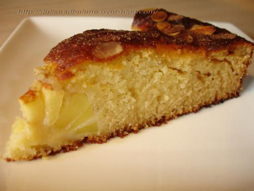 Cake pomme amande cannelle