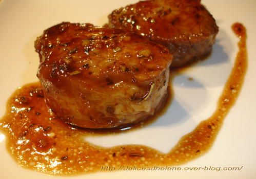 Marinade pour filet mignon porc au barbecue - Filet mignon de porc grille au barbecue ...