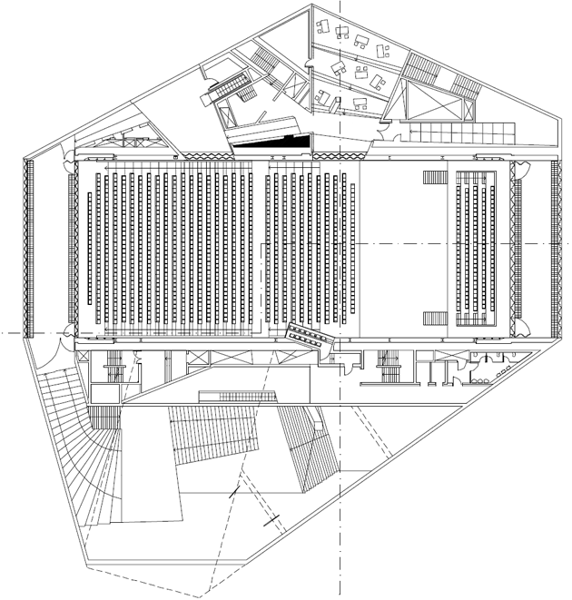 rem koolhaas-CASA-DA-MUSICA-AUDITORIUM-SECTION