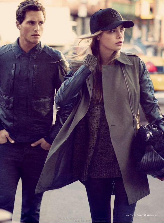 DKNY - FALL WINTER 2013 AD CAMPAIGN / PHOTOGRAPHED BY MIKAEL
