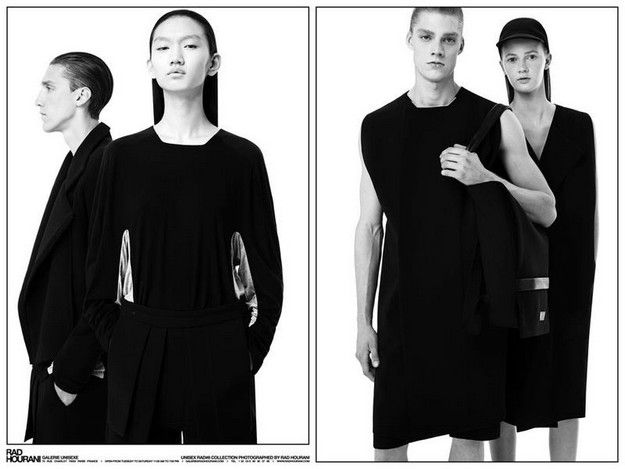 Http Www Arcstreet Com Article Rad By Rad Hourani Ready To Wear Unisex Collection 8 Ad Campaign 120397538 Html